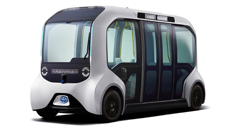 Toyota e-Palette autonomous shuttle
