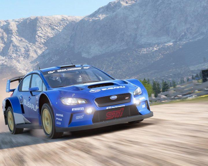 Subaru Impreza from Gran Turismo Sport