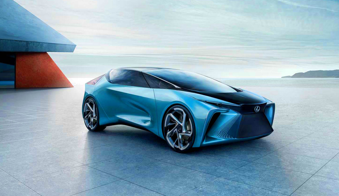 Lexus goes Electric with the LF-30