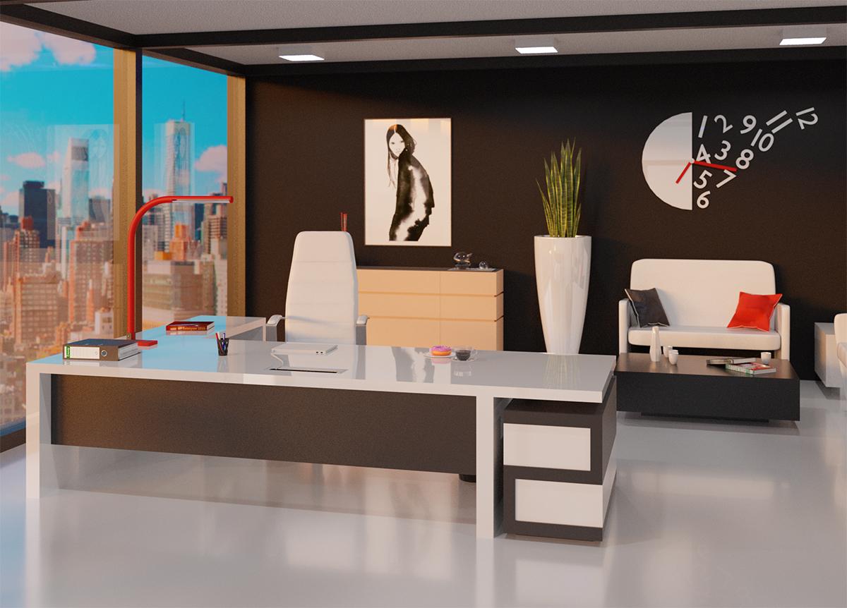 Office Archviz in Blender