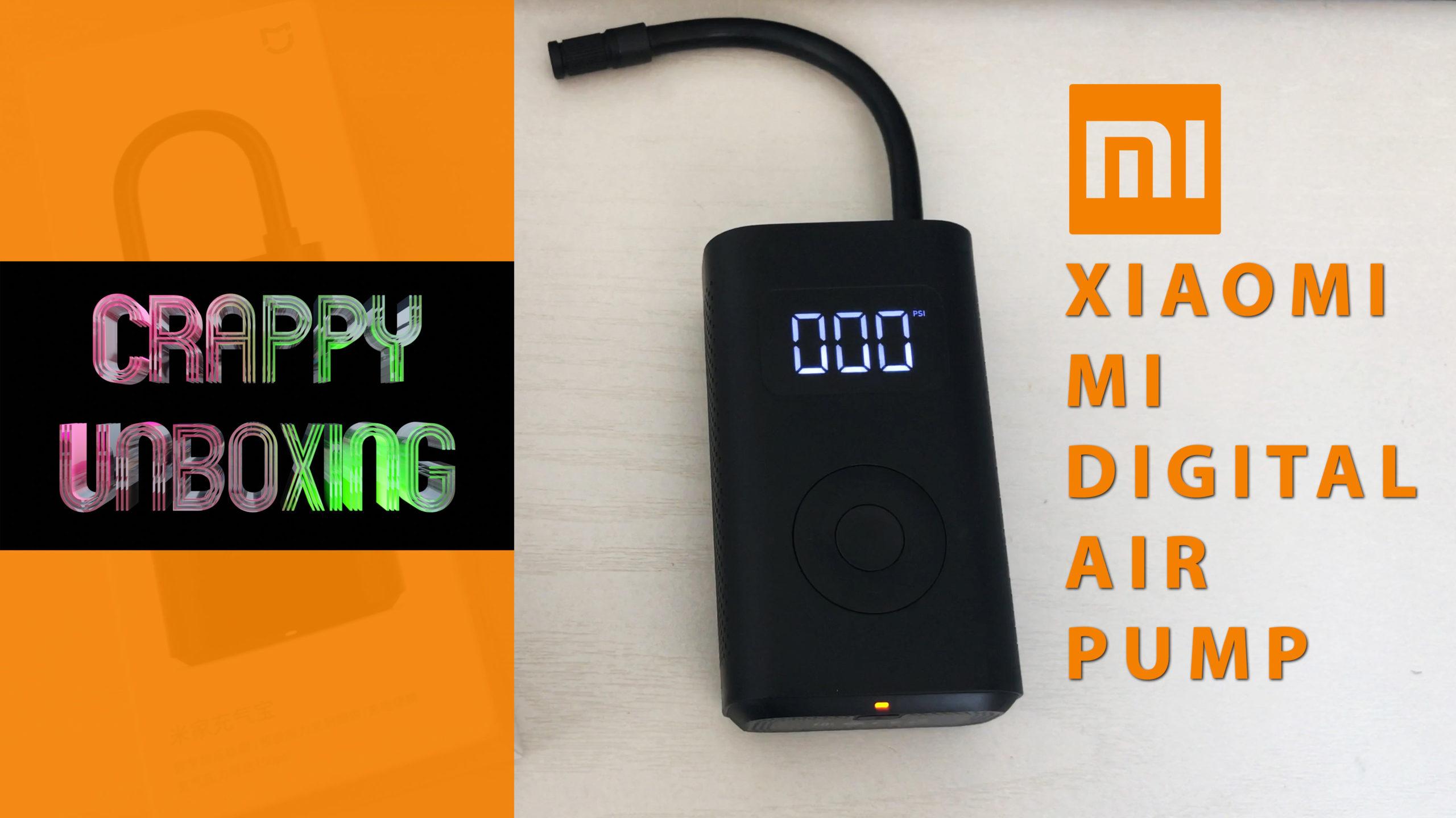 Crappy Unboxing: Xiaomi MI Digital Air Pump