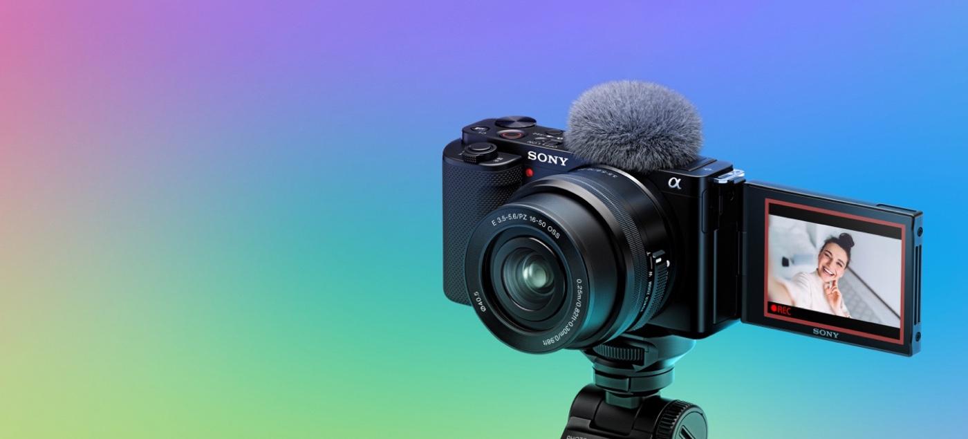 Sony ZV-E10 Vlog Camera Announced